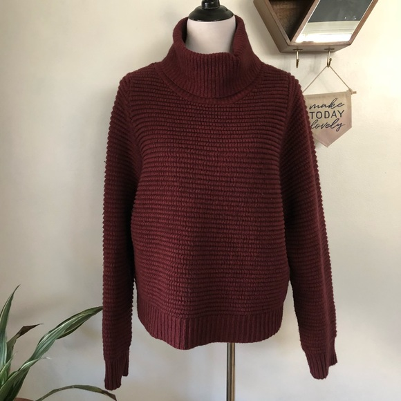 5c6f0456e04 Madewell Sweaters - Madewell Side Button Turtleneck Sweater